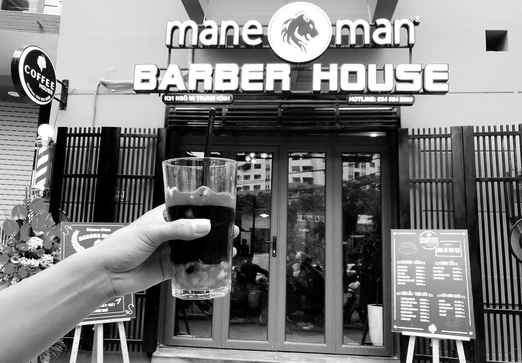 mane man barber house