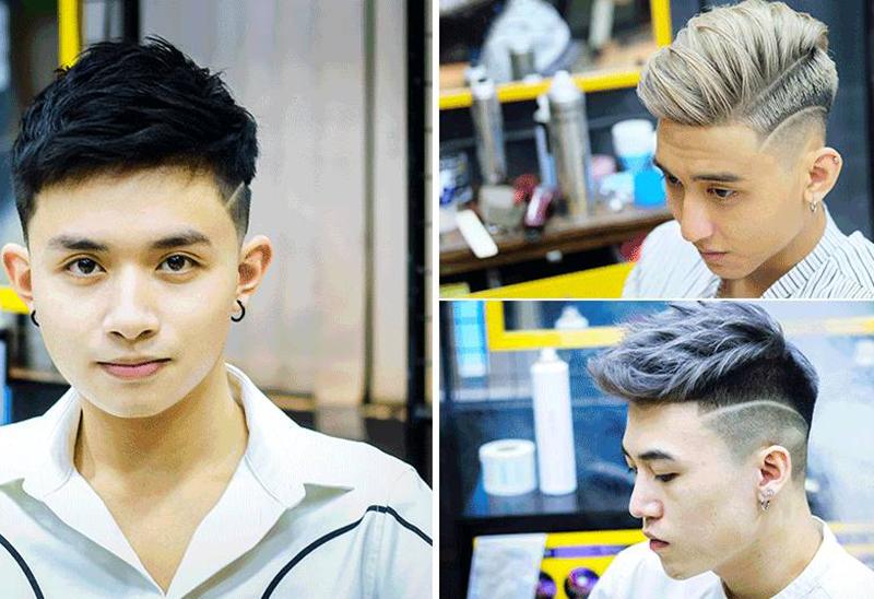 cắt tóc nam đẹp giá rẻ