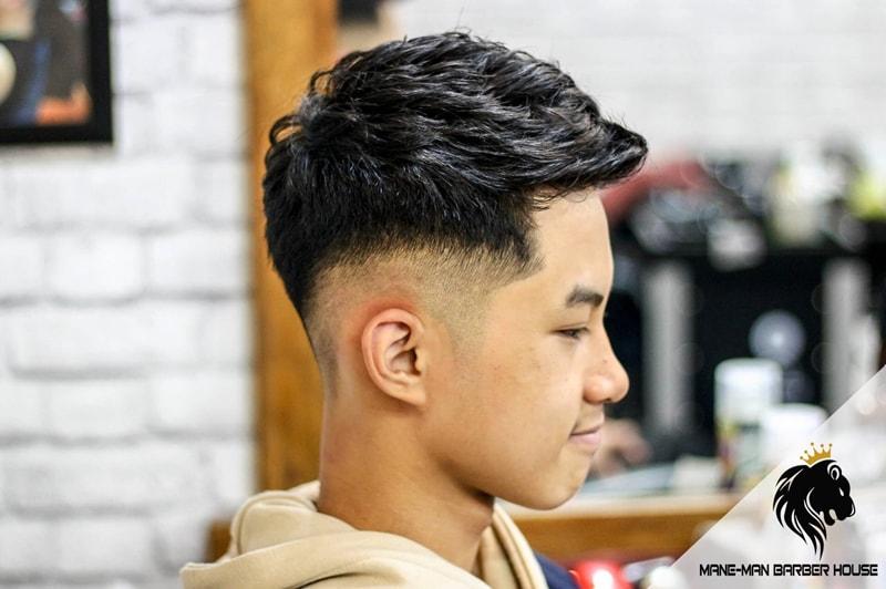 Kiểu tóc nam uốn xoăn