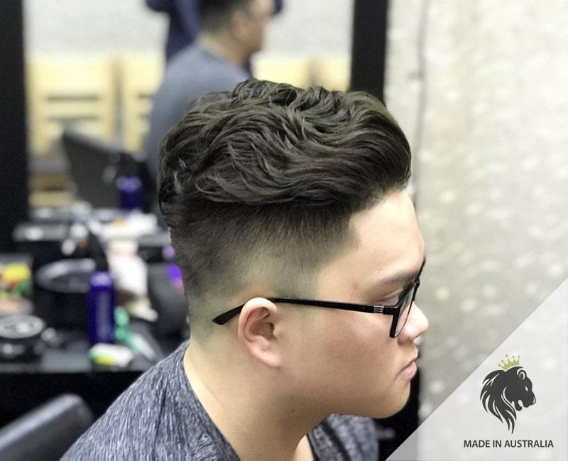 Uốn tóc nam Undercut