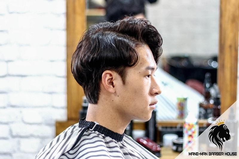 Kiểu uốn tóc nam gợn sóng