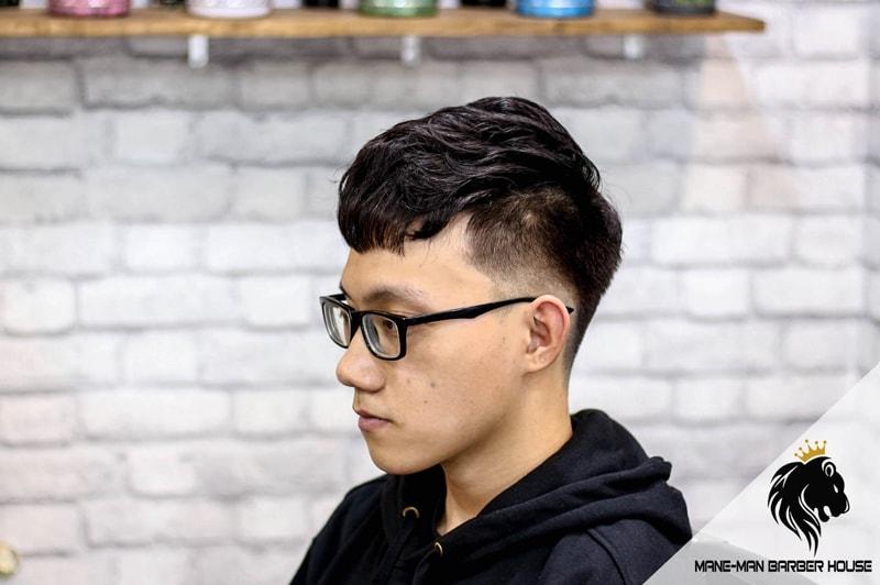 Uốn tóc nam không xoăn