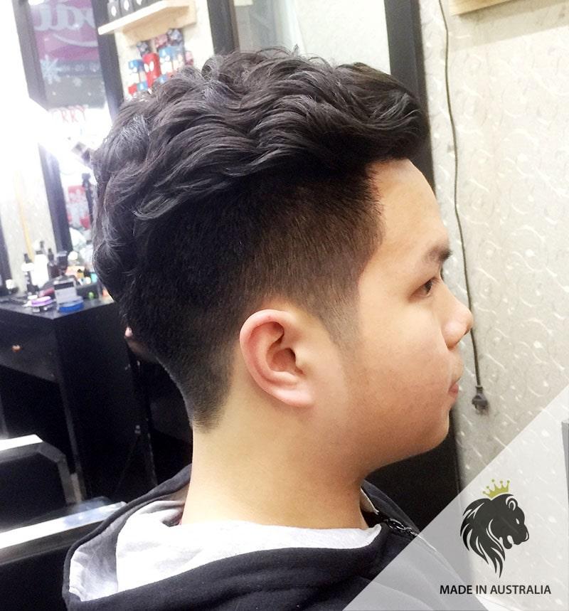 Uốn phồng tóc nam Undercut