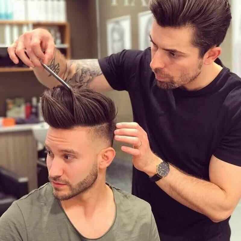 cách uốn tóc nam đẹp