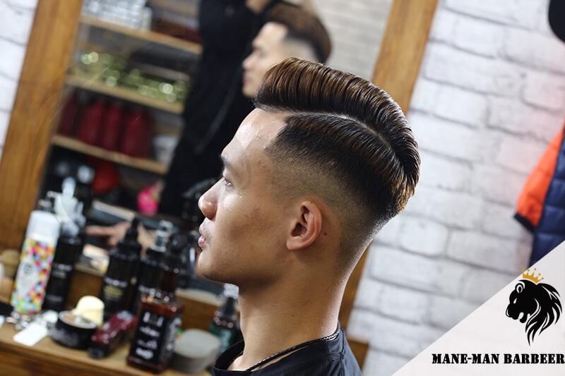 Nhuộm tóc nam màu nâu tây