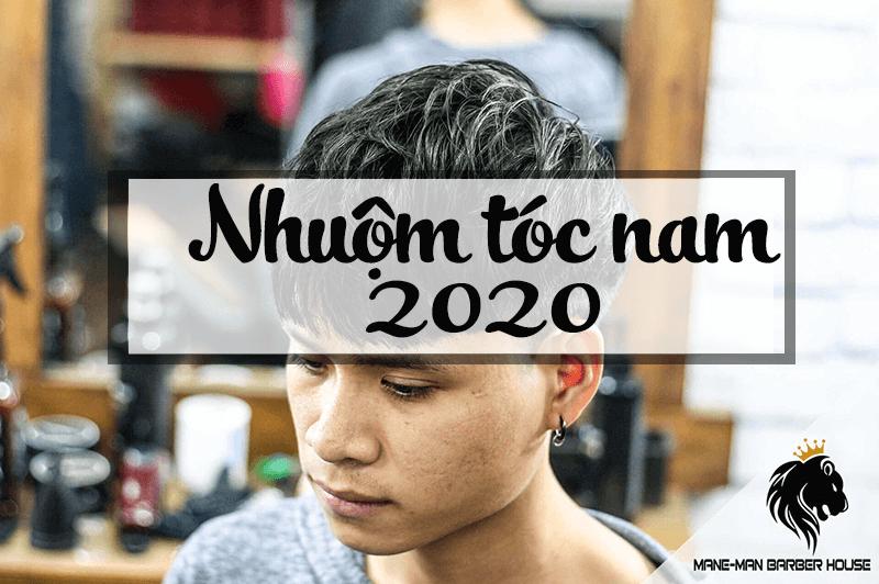 Màu nhuộm tóc nam đẹp 2020