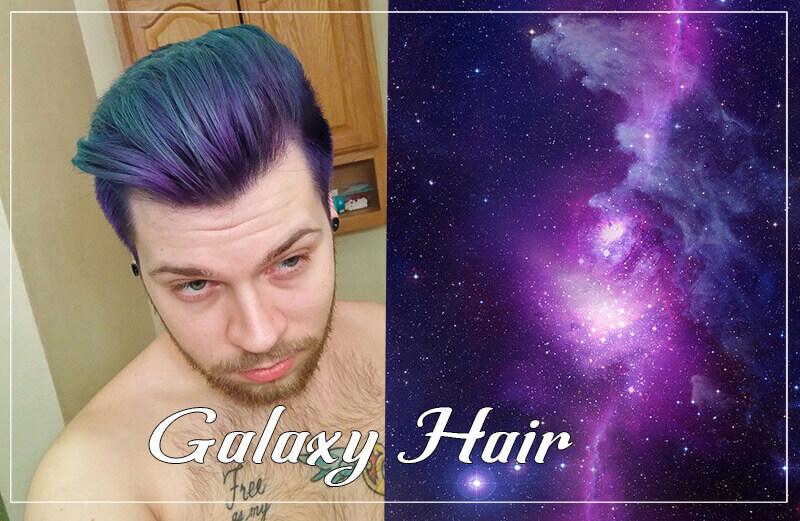 Nhuộm tóc nam Galaxy
