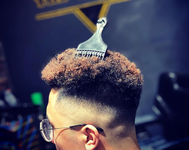 Kiểu tóc premlock ngắn