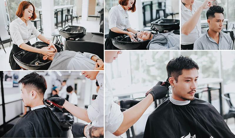 Cắt tóc nam salon Hà Nội