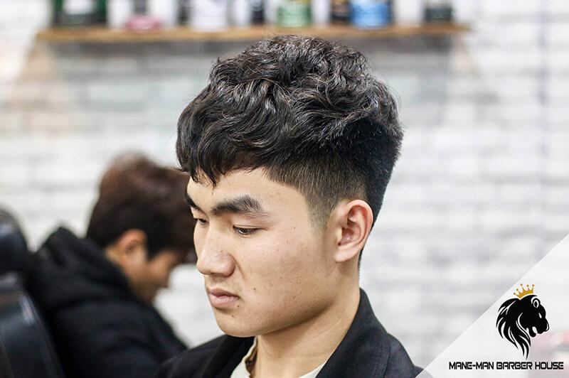 Tóc uốn Hàn Quốc đẹp