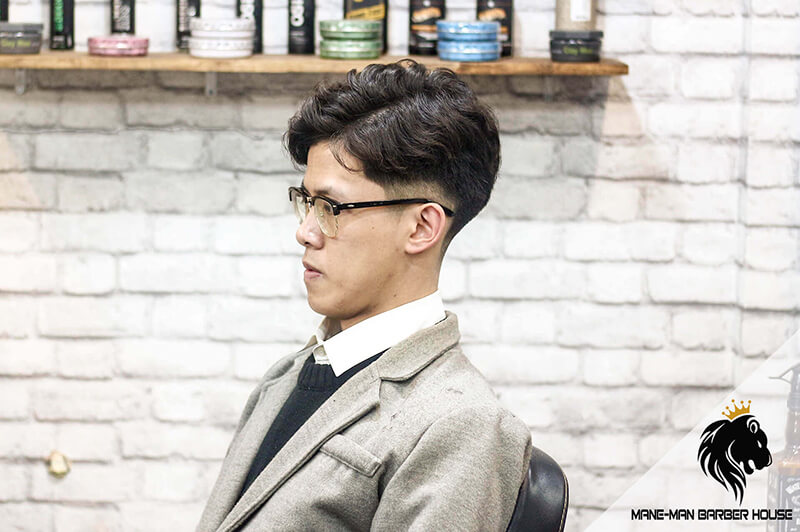 Mẫu tóc nam đẹp Hàn Quốc