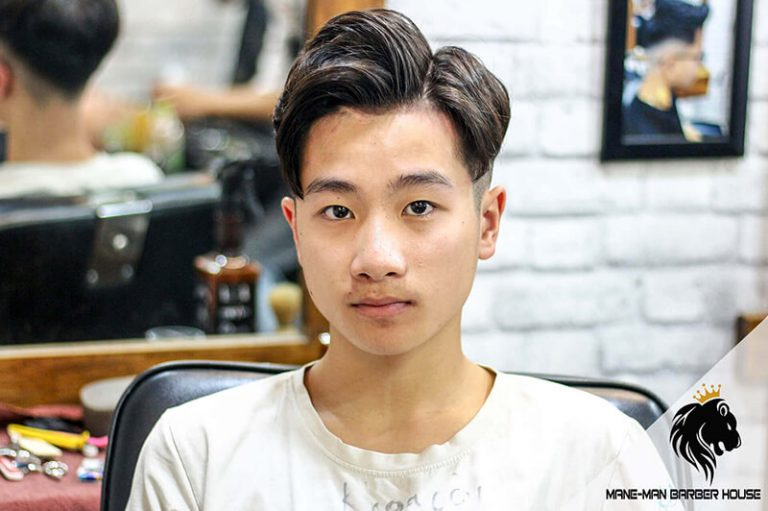 Kiểu tóc side part học sinh