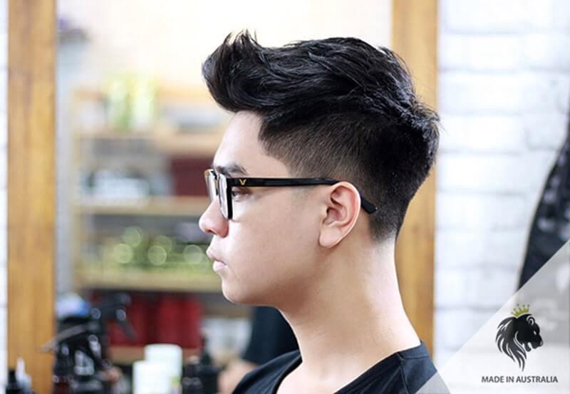 Kiểu tóc short quiff ngắn