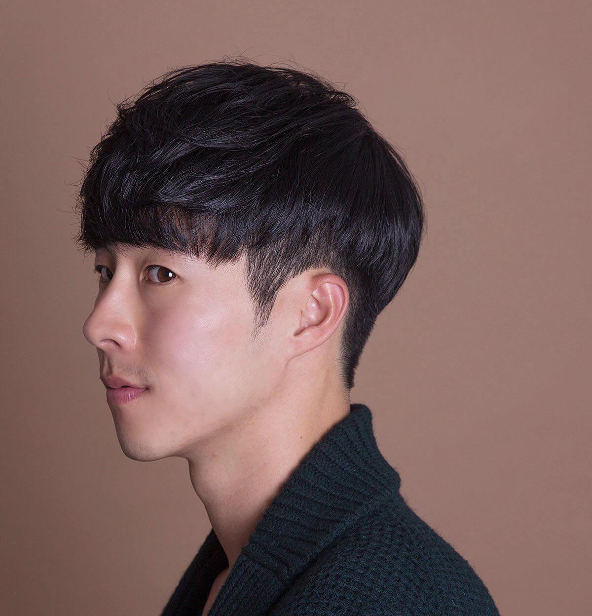kiểu Tóc nam tỉa layer Hàn Quốc