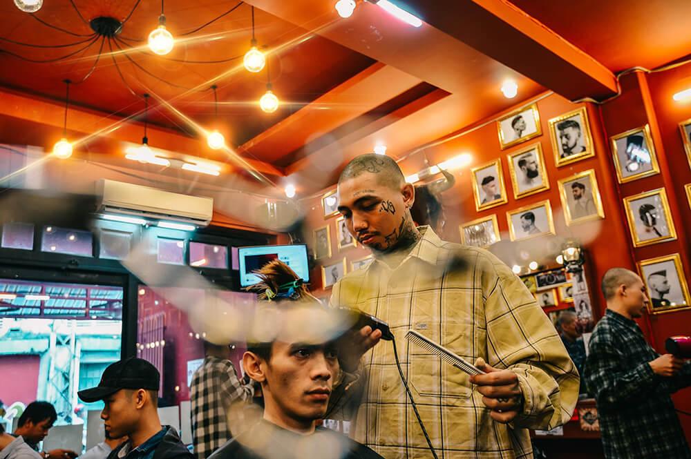 cắt tóc Liêm barber Hà Nội