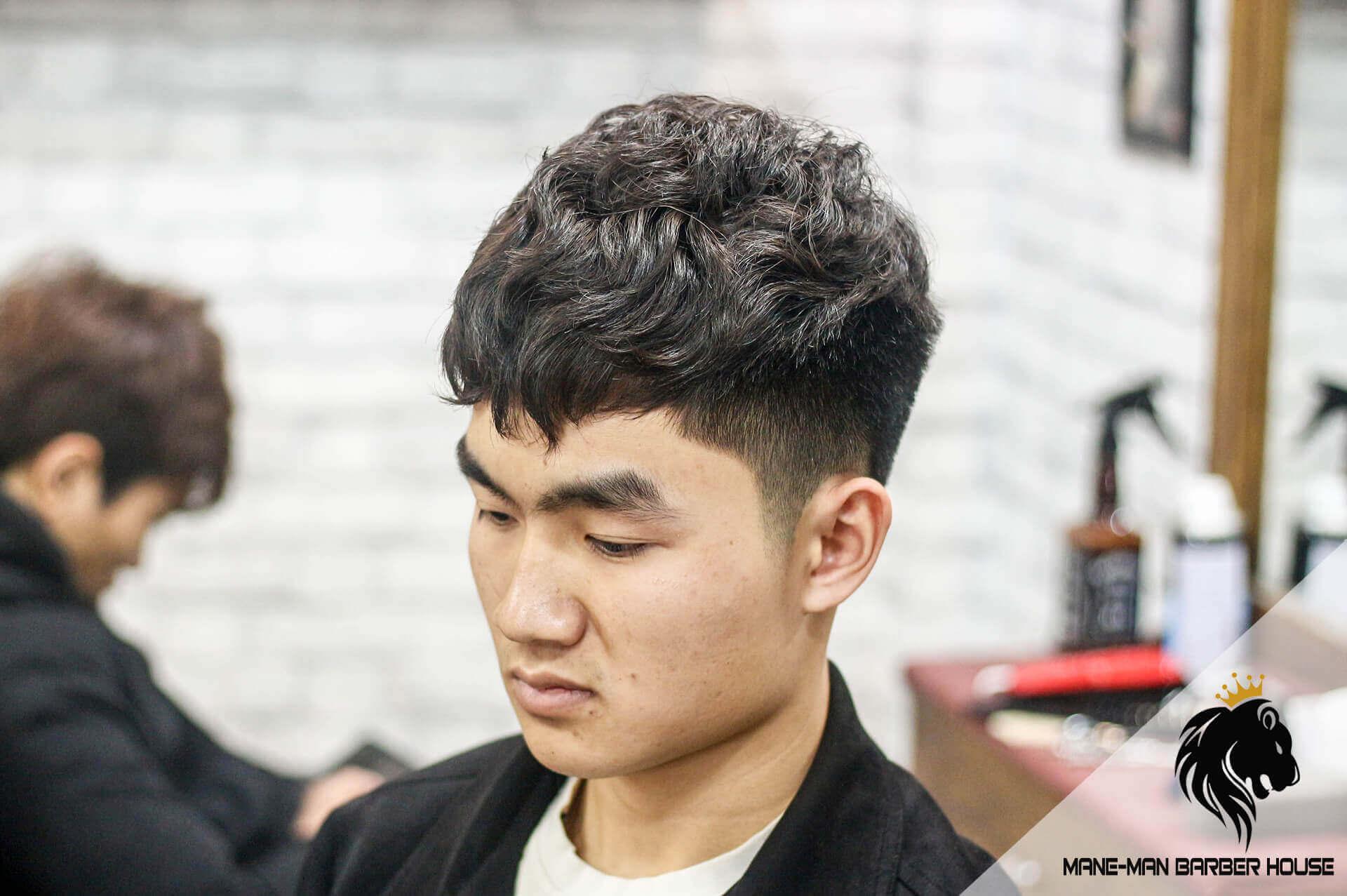 Kiểu tóc Textured