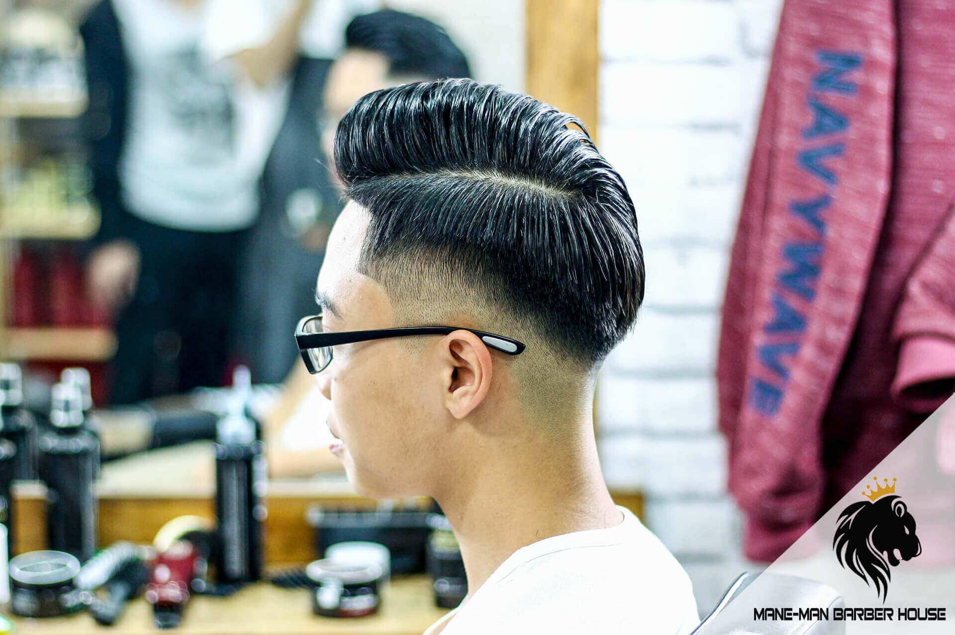 Kiểu tóc Pompadour ngắn