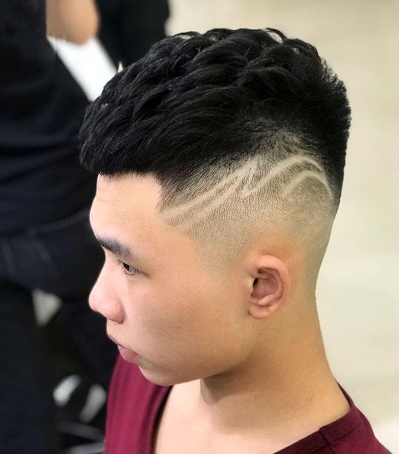 Kiểu tóc Mohican ngắn 2020