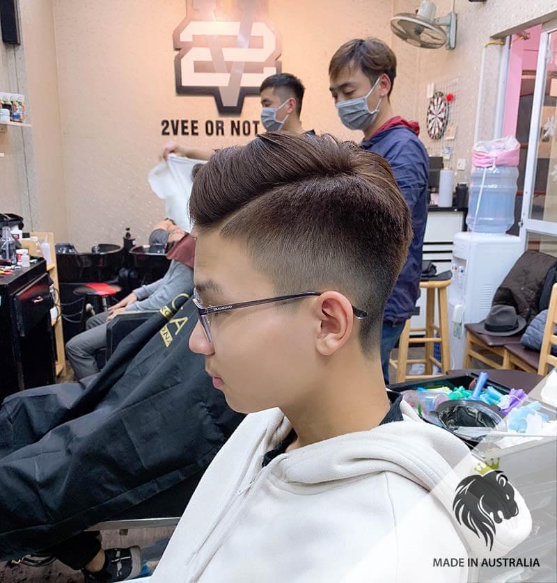 tóc undercut ngắn 2020