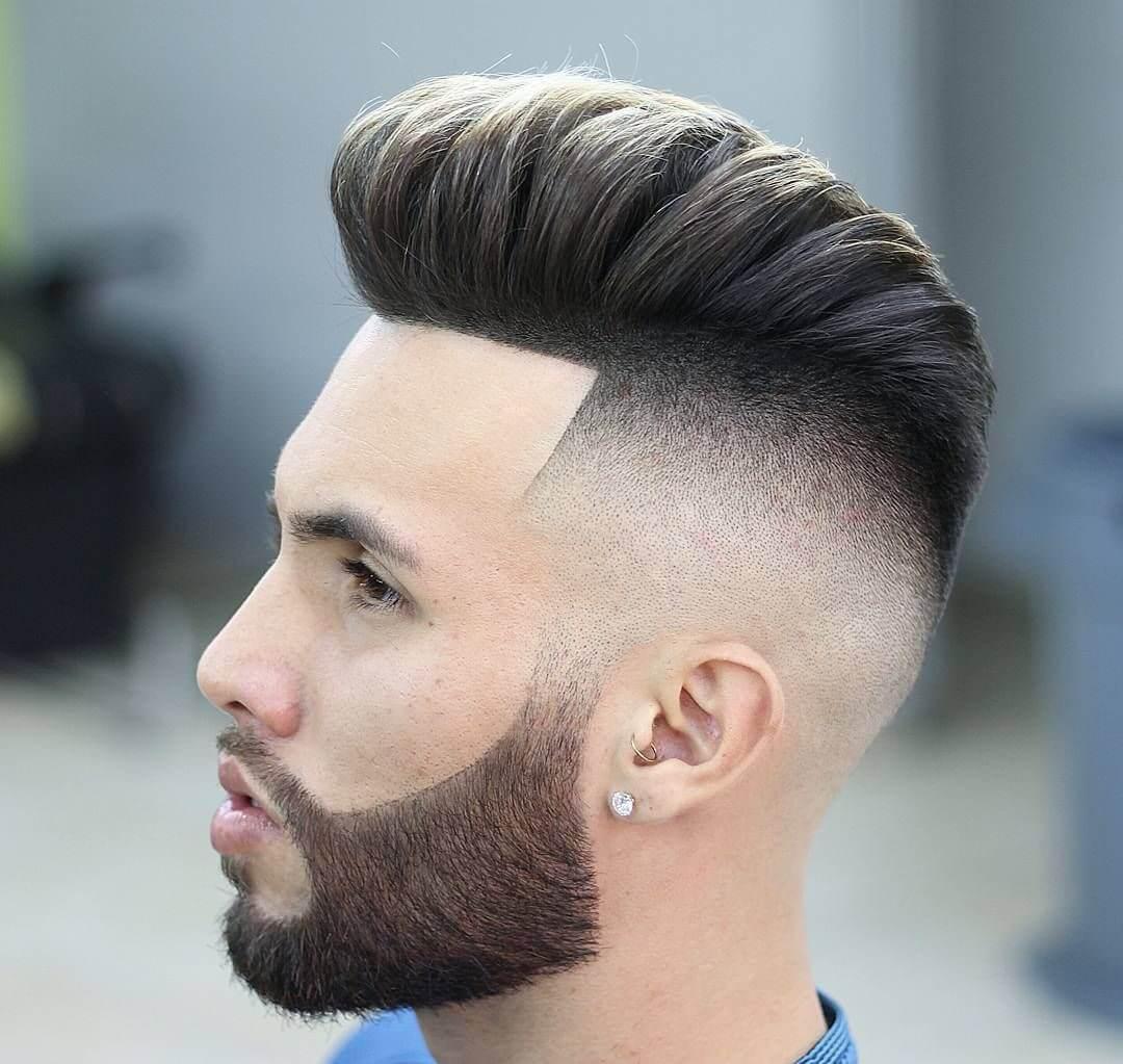 kiểu tóc nam vuốt ngược
