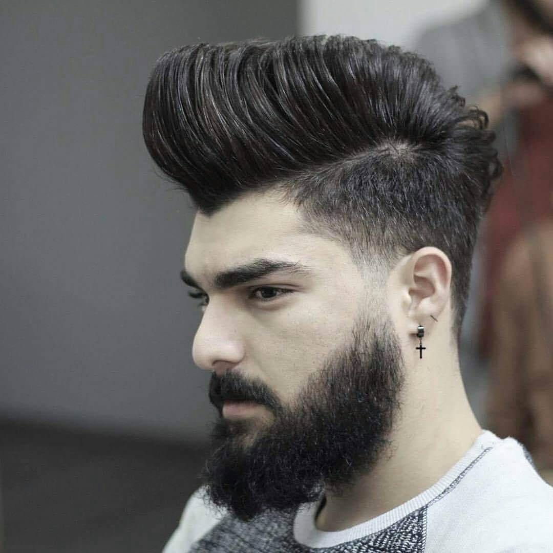 tóc nam vuốt ngược