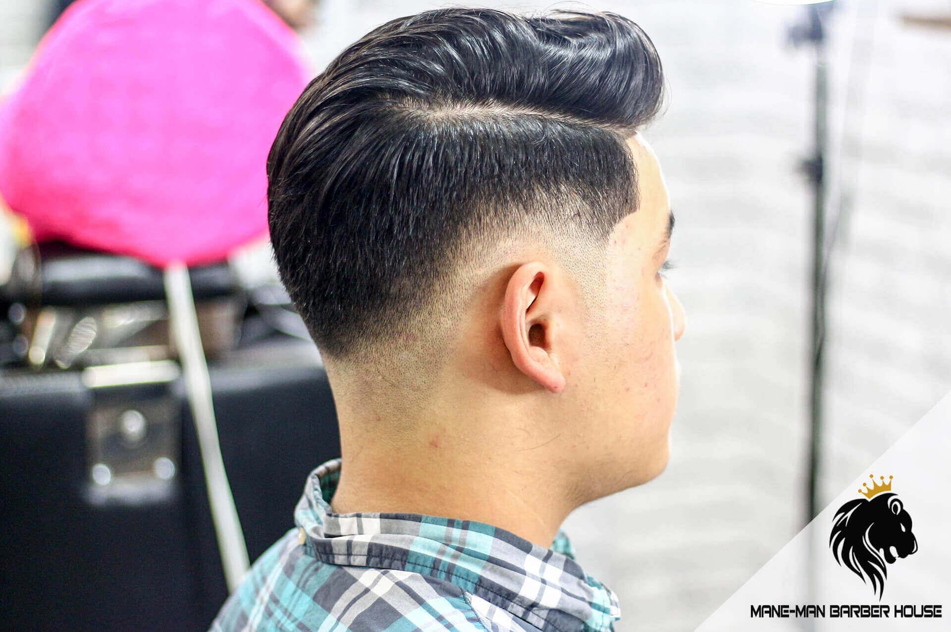 tóc nam vuốt ngược Hàn Quốc