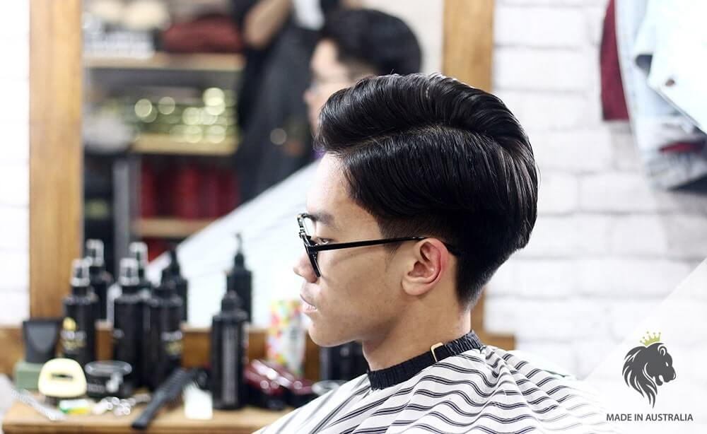 cắt tóc nam side part Hàn Quốc