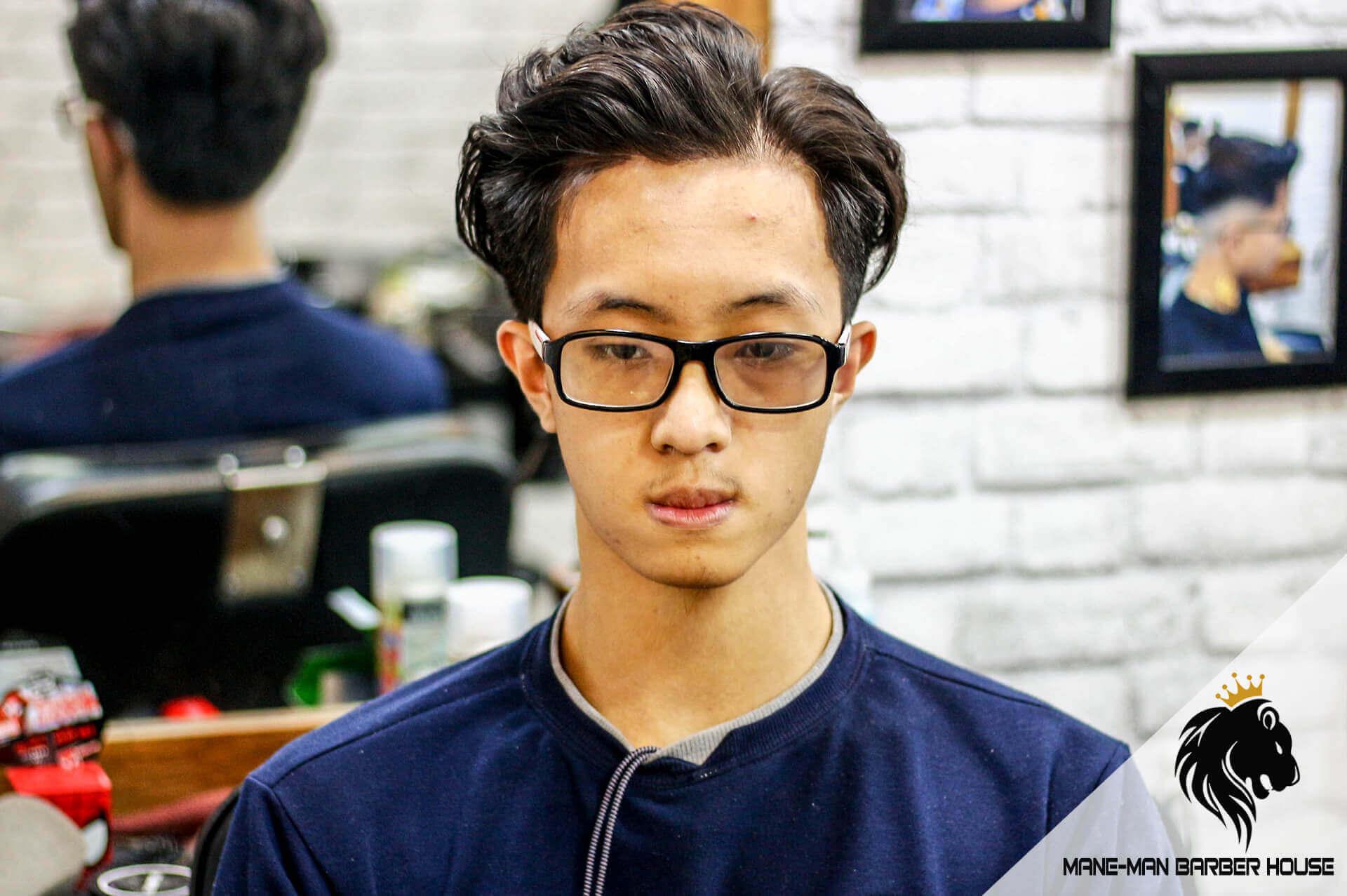 Kiểu tóc bổ luống Hàn Quốc