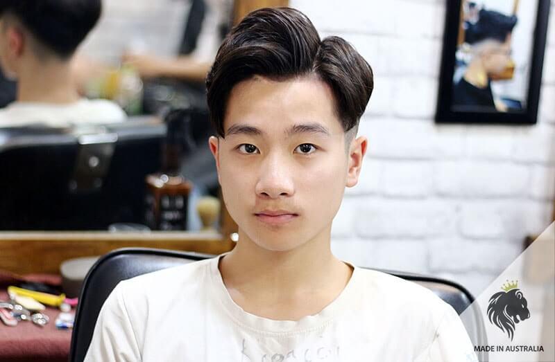 tóc nam xoăn Hàn Quốc