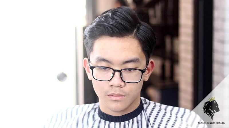 tóc side part Hàn Quốc