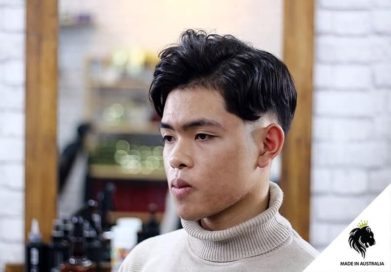 Kiểu tóc ngắn bổ luống 2020