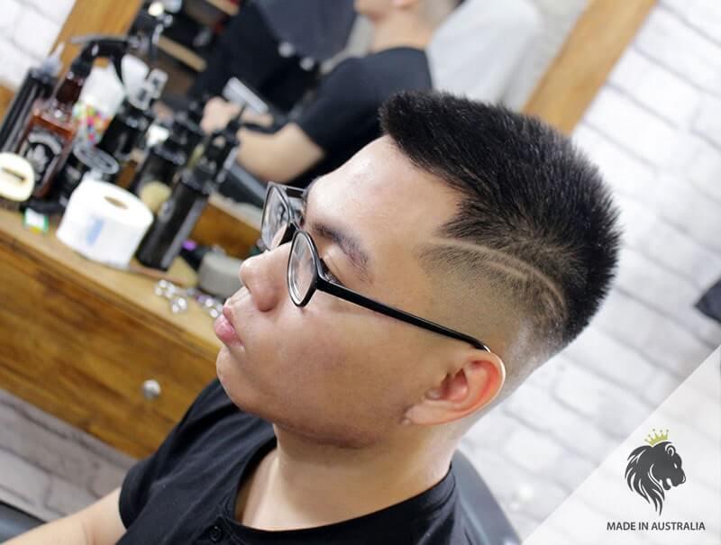 tóc nam đẹp 3 phân