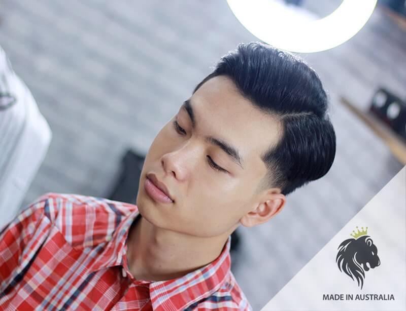 tóc side part việt nam