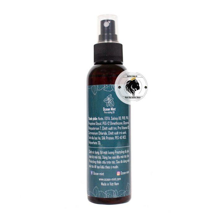 xịt dưỡng Ocean Mint Pre-styling Oil