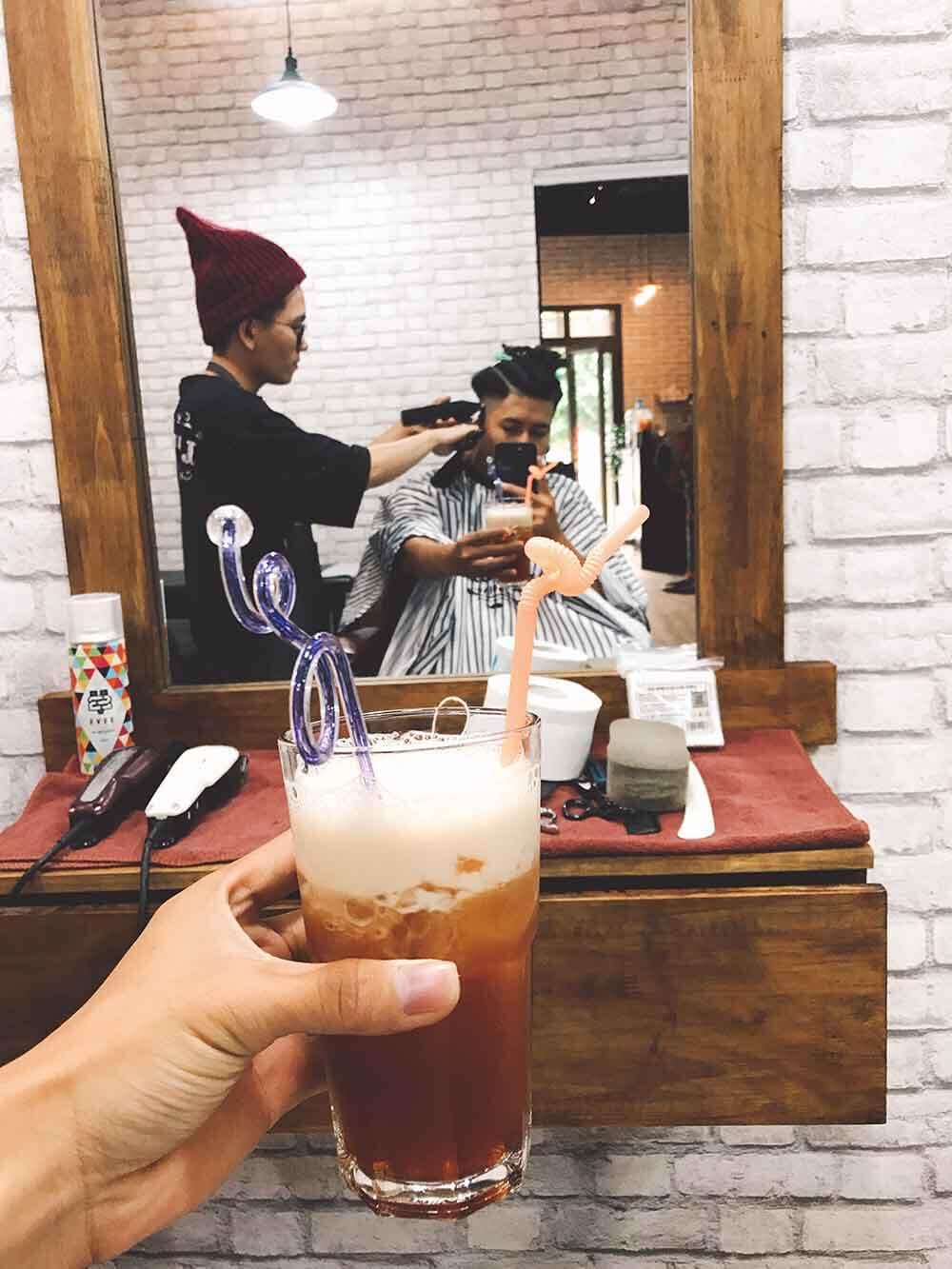 cắt tóc nam barber house