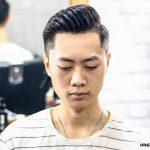 cắt tóc đẹp side part barber