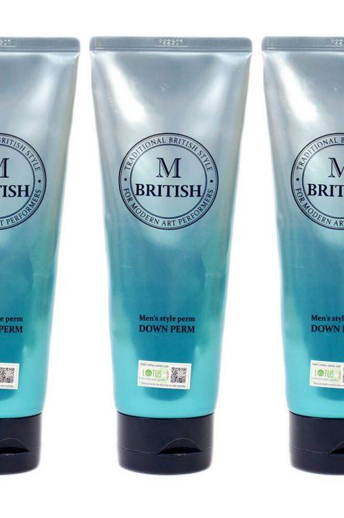 M British ép side tóc
