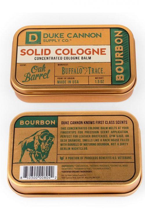 Duke Cannon Bourbon Oak Barrel