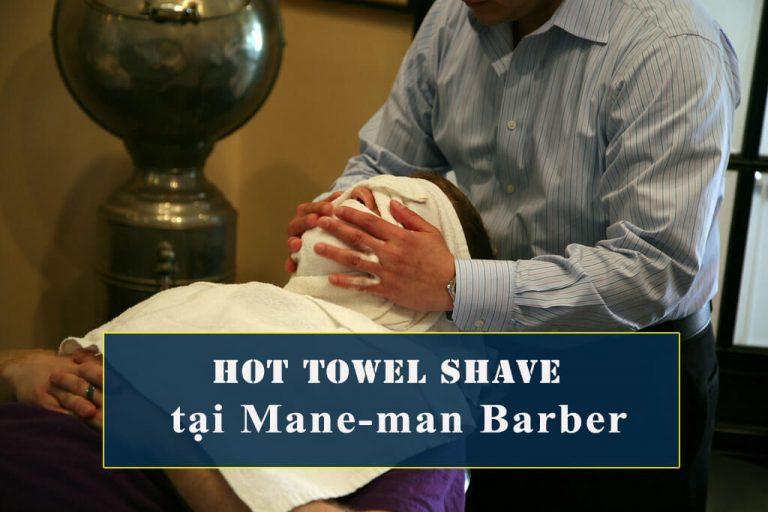 Hot Towel Shave barber