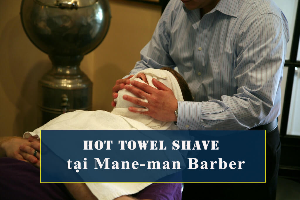 Hot Towel Shave barber