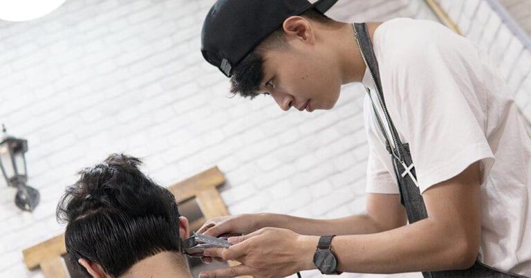 cắt tóc nam Cầu Giấy