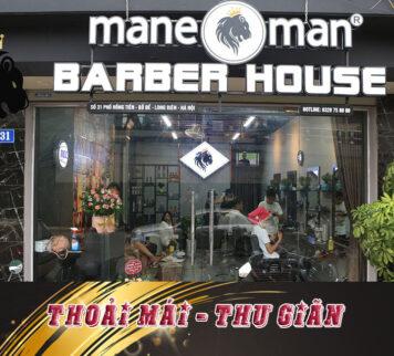 Mane man barber house Long biên